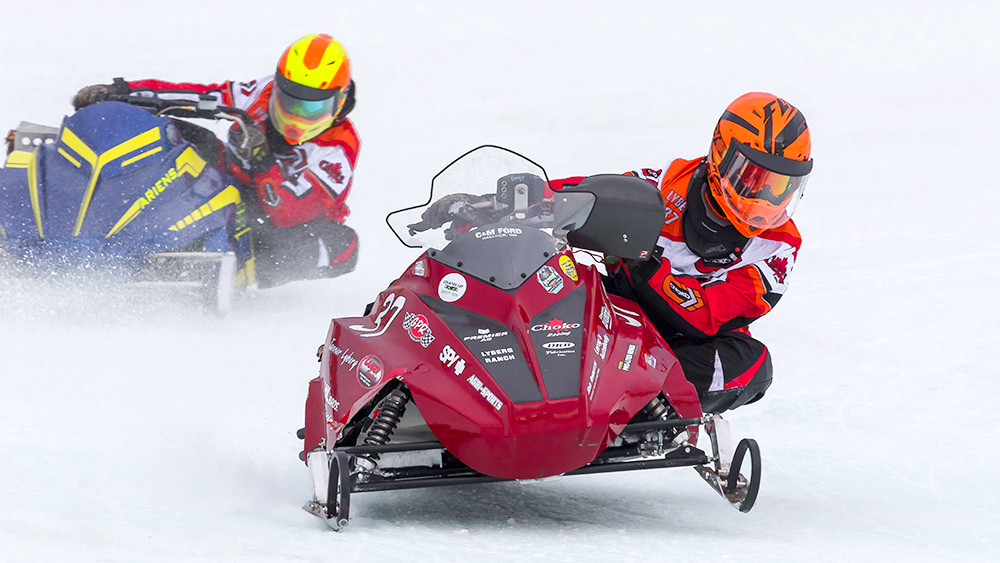 USSA Snowmobile Racing   USSA PROSTAR Ice Oval Racing